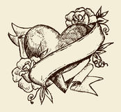 Love tattoo Royalty Free Stock Photo