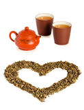 Love tea Royalty Free Stock Images