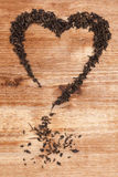 Love for tea concept. Royalty Free Stock Image