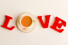 For the love of tea Stock Photography