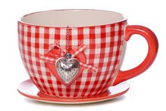 Love tea cut out Royalty Free Stock Images