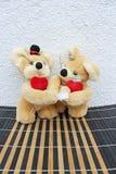 In love teddy bears Royalty Free Stock Image