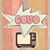 Love television Stock Photos