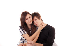 Love and tenderness Stock Images