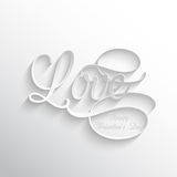 Love text background Royalty Free Stock Image