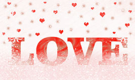 Love text. Love cards for all occasions Stock Images