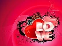 Love text illustration Stock Photos