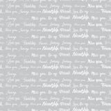 Love text pattern Stock Images