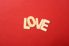 Love Text Royalty Free Stock Photo