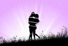Love Theme Background Stock Photos