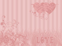 Love theme background Royalty Free Stock Image