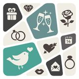 Love theme background Royalty Free Stock Photos