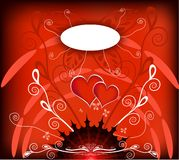 Love Theme Illustration Stock Images