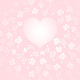Love Themed Background Stock Image
