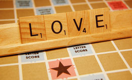 Love Tiles Royalty Free Stock Images
