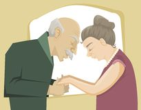 Love through the time Stock Images