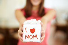 With love to mom Stock Photo