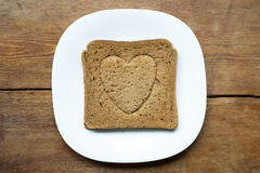 Love toast Stock Photo