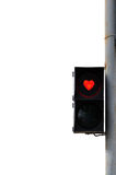Love trafficlight Stock Photo