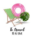 Love travel concept illustration in vector. Stock Image