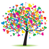 Love tree. High detail illustration of love tree Stock Image