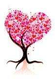 Love tree royalty free illustration