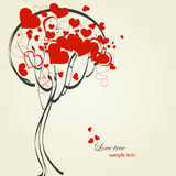 Love tree Stock Images