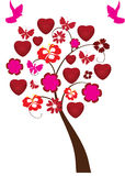 Love tree Royalty Free Stock Photos