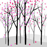 Love tree Royalty Free Stock Photography