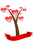 Love tree Stock Image