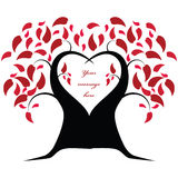 Love Tree Royalty Free Stock Photography