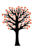 Love tree Royalty Free Stock Photos