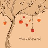 Love tree. Royalty Free Stock Images