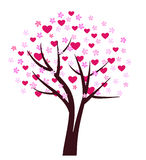 Love tree design Royalty Free Stock Photography