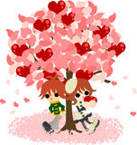 A love tree Stock Photos