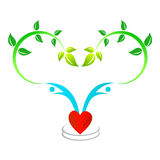 Love tree people Royalty Free Stock Photo