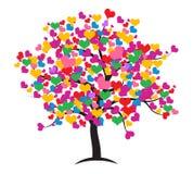 Love tree. stock illustration