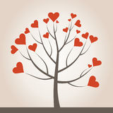 Love tree3 Stock Image