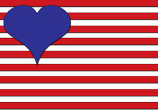 Love in the USA Royalty Free Stock Photo