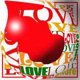 Love for valentine Royalty Free Stock Photography