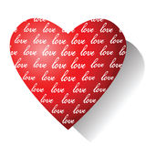 Love. Valentine card. Royalty Free Stock Photo