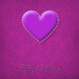 Love and Valentine card concept Royalty Free Stock Photos