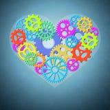 Love and Valentine concept Stock Photos