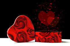 Love and valentine concept Stock Image