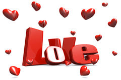 Love valentine day background Royalty Free Stock Photography