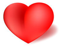 Love Valentine Heart Red Royalty Free Stock Photos