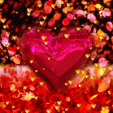 Love - Valentine Hearts Stock Images