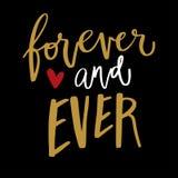 Love valentine quote Royalty Free Stock Image