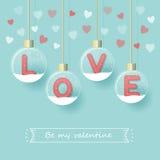 Love valentine`s day background Stock Image