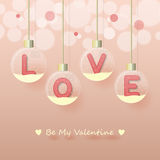Love valentine's day background Stock Photo